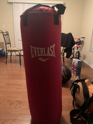 50lb Everlast punching bag for Sale in Tampa, FL