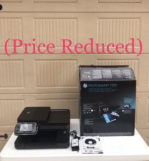 HP Photosmart 7510 e-all- in -one printer (Like New) for Sale in Phenix City, AL
