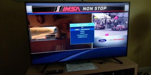 """Insignia TV 50"""" with Chromecast"""
