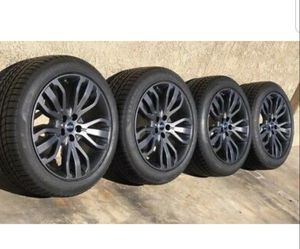 "21 RANGE ROVER 21"" OEM Factory Original Gray Wheels Rims Tires for Sale in Long Beach, CA"