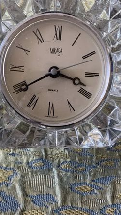 Mikasa Crystal Clock Austria for Sale in Delray Beach,  FL