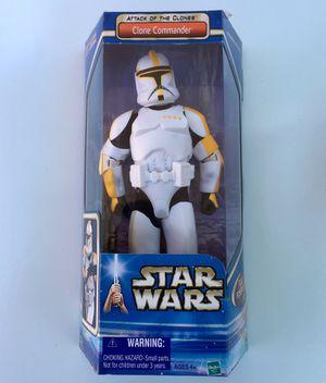 "STAR WARS AOTC 12"" INCH CLONE TROOPER COMMANDER SAGA MIB NEW for Sale in Los Angeles, CA"