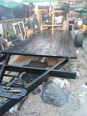 Car hauler tow trailer 16x6.5 for Sale in Baldwin Park, CA