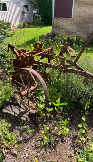 Old farm plow , lawn art . YOU HAUL FREE for Sale in Molalla, OR