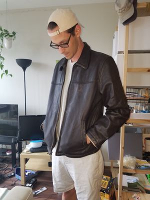Columbia leather jacket for Sale in Wheaton, MD