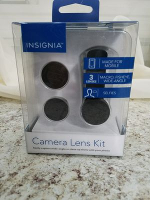 Clip on camera lens. Universal use on smart phones for Sale in Drexel Hill, PA