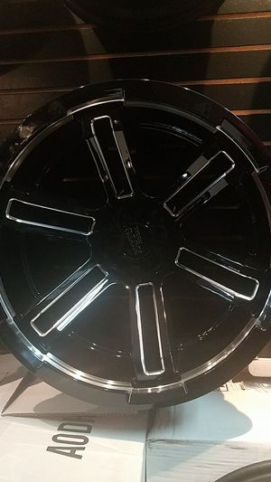 Moto Metal wheels and tires for Sale in Oak Lawn, IL