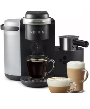 Keurig K-Cafe C Single Serve K-Cup Pod Coffee, Latte and Cappuccino Maker Black for Sale in Los Angeles, CA