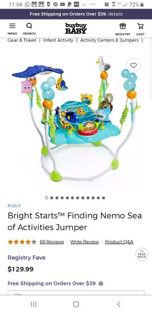 Finding Nemo Play Gym for Sale in San Diego, CA