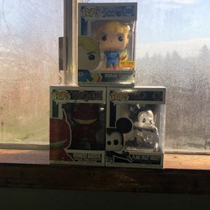 3x Funko Pops for Sale in Happy Valley, OR