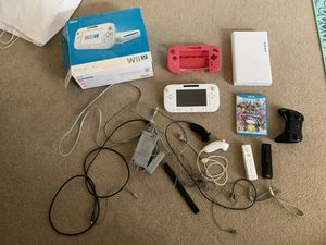 Wii u with Extras for Sale in Vancouver, WA