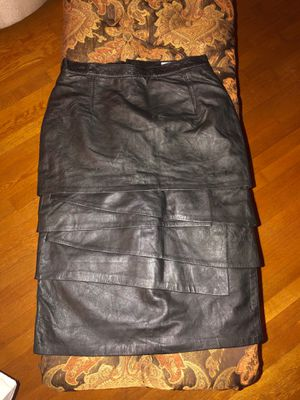Leather boot skirt size 12 for Sale in College Park, GA