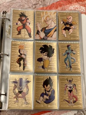 Dragonball Z cards for Sale in Roy, WA