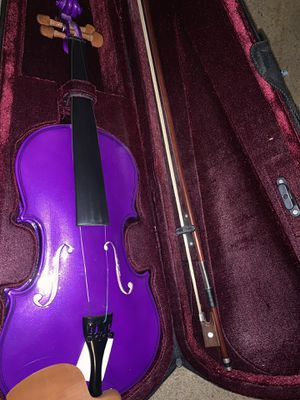 Purple violin for Sale in Clovis, CA
