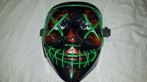 Purge Halloween mask Green LED. for Sale in Stockton, CA
