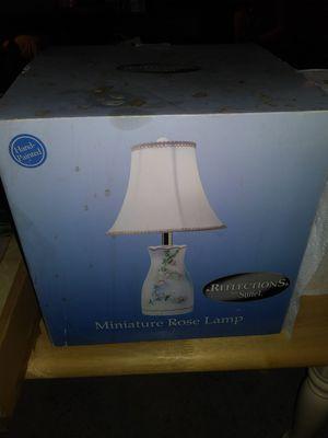 Miniature Rose Lamp for Sale in Long Beach, CA