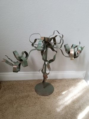 2ft metal ribbon candle holder wedding garden lights for Sale in Las Vegas, NV