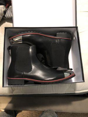 Caesar walks Silver toe Chelsea Boots for Sale in Norcross, GA