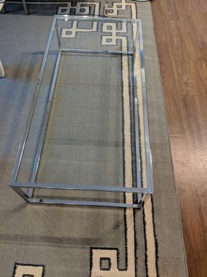Euro Style Glass Coffee/Living room Table for Sale in Washington, DC