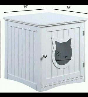 Kitty Litter Box End Table Enclosure for Sale in Vallejo, CA