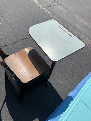 Vintage Student desk 1960s Good Condition for Sale in Sacramento, CA
