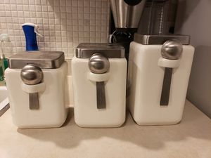 Storage Containers w/Measuring Spoons for Sale in Chicago, IL
