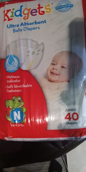 Brand Newborn Diapers for Sale in Dallas, TX