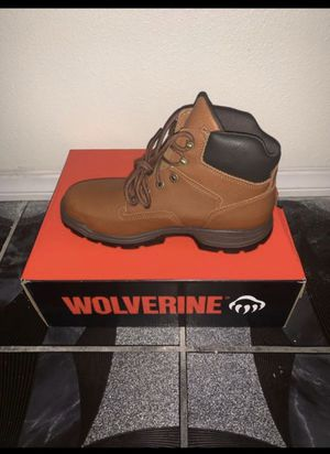 WOLVERINE STEEL TOE BOOTS 9.5 for Sale in Fontana, CA