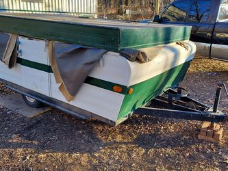 Broken Pop Up Camper for Sale in Noble,  OK