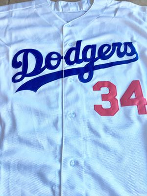 Dodgers Valenzuela Authentic Jersey for Sale in Los Angeles, CA