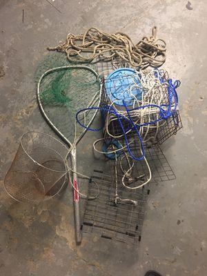 Crabbing/fishing bundle for Sale in Bristol, RI