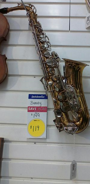 Saxophone Bundy for sale for Sale in Gastonia, NC