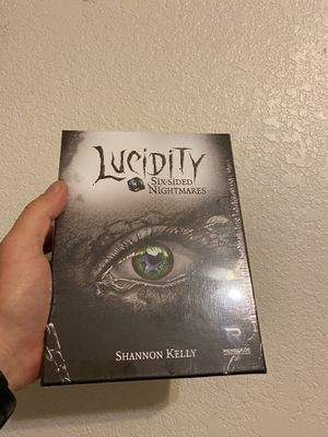 Lucidity! A awesome card game / board game. Spooky/Horror/Scary game! for Sale in Fort Worth, TX