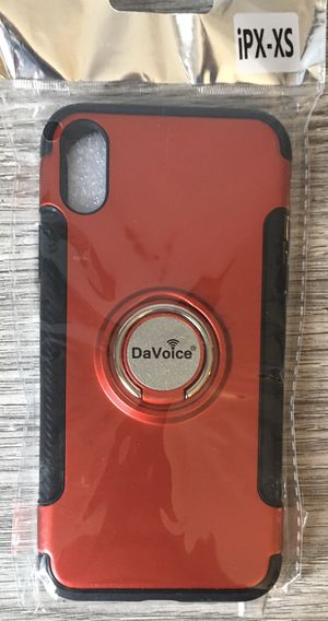 Apple iPhone X XS Case Red for Sale in Sycamore, IL