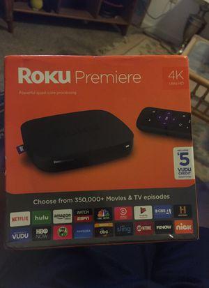 Roku premiere 4K for Sale in Suffolk, VA