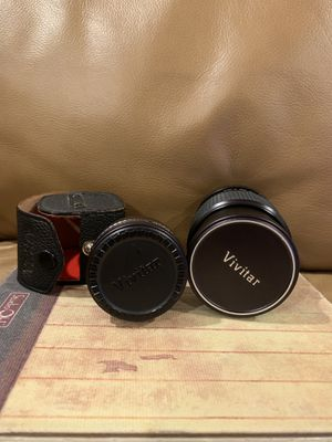 Vivitar camera lenses for DSLR (Canon) for Sale in Chicago, IL