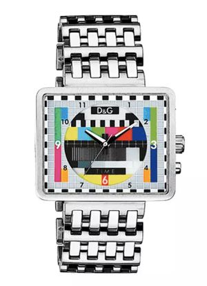 DOLCE & GABBANA MEDICINE MAN WATCH, ALL STAINLESS STEEL w LINK-CHAIN STRAP for Sale in Hialeah, FL