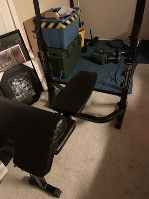Weight bench for Sale in Germantown, MD