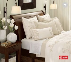 Pottery Barn Valencia (King) bed frame for Sale in Issaquah, WA