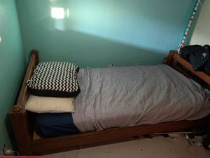 Twin bed frame for Sale in Mission Viejo, CA