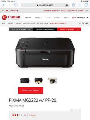 Canon printer for Sale in Pleasant Hill, CA