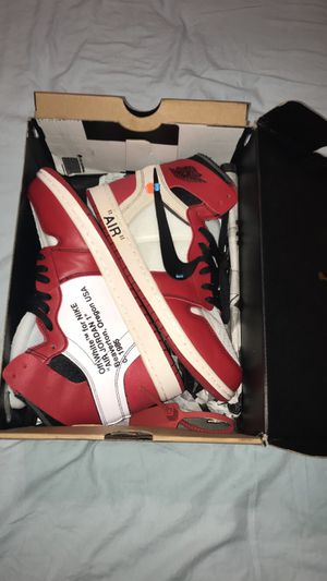 Off-white x Nike air Jordan 1 for Sale in Orlando, FL