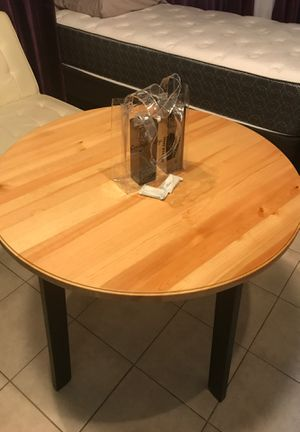 Wood table with 3 chairs for Sale in Chelsea, MA