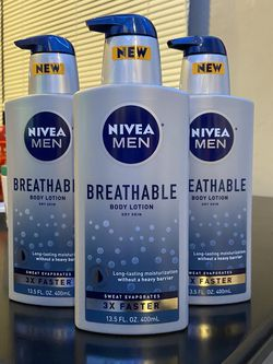 Nivea Men Breathable Lotion $5 Each for Sale in Los Angeles,  CA
