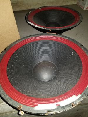 15 inch speakers for Sale in Kansas City, MO