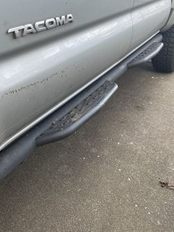 2nd generation Toyota Tacoma running boards / nerf bars / side steps for Sale in Tacoma,  WA