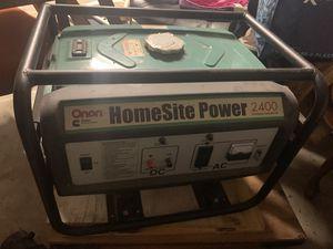 Onan Power Generator Homesite Power 2400 for Sale in Sugar Land, TX
