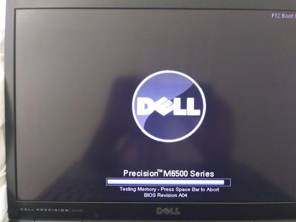 "Dell Precision M6500 i7 Q820 Windows 10 McSoft Office 2010 750GB 8Gb Ram 17"" Screen Laptop Refurbished"