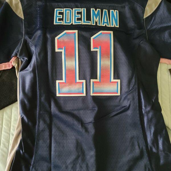 Edelman #11 Patriots Jersey
