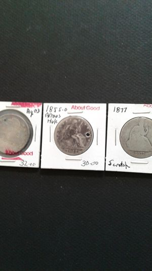 Liberty Seated and Capped half dollars for Sale in Inverness, FL